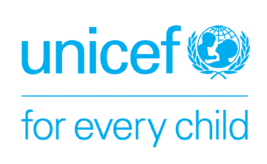 Unicef logo with 'for every child' written beneath