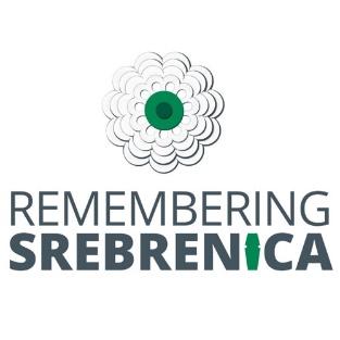 Remembering Srebrenica logo