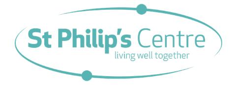 St Philip's Centre logo