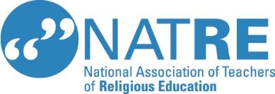 National assoication of teachers of religious education logo